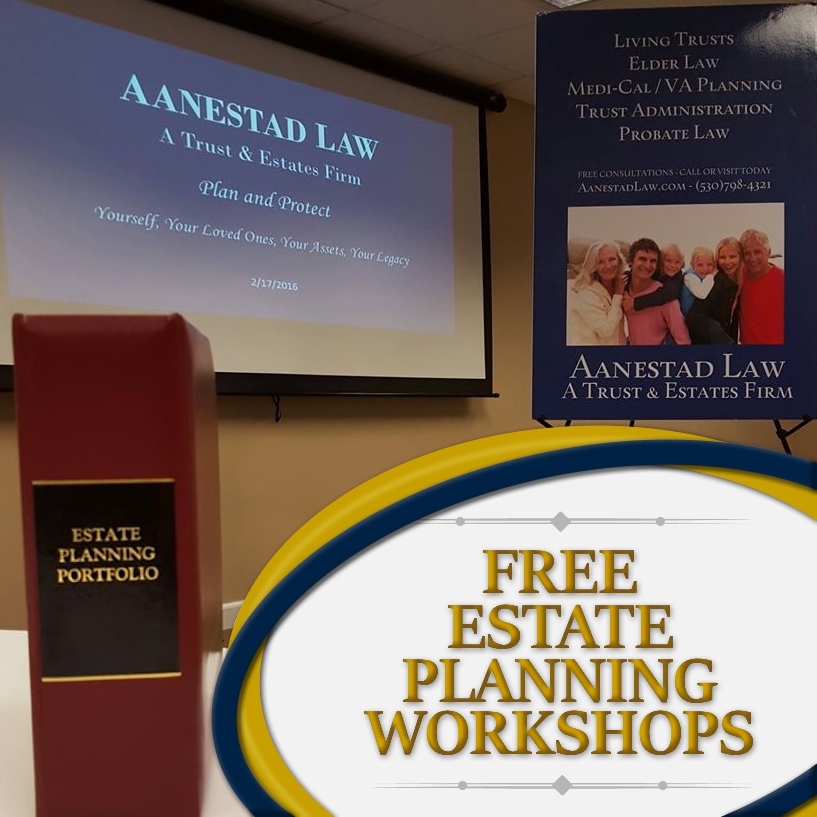 estate workshop event grass valley ca