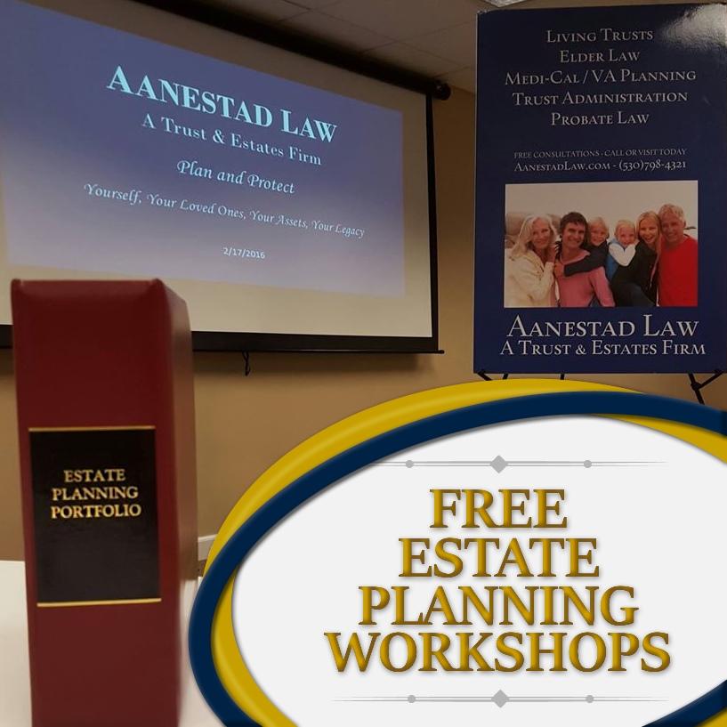 estate workshop event grass valley ca